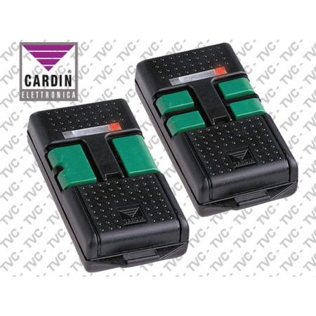 Radiocomando Codice Fisso Dip Switch TRS 476. CARDIN 433,92 MHz