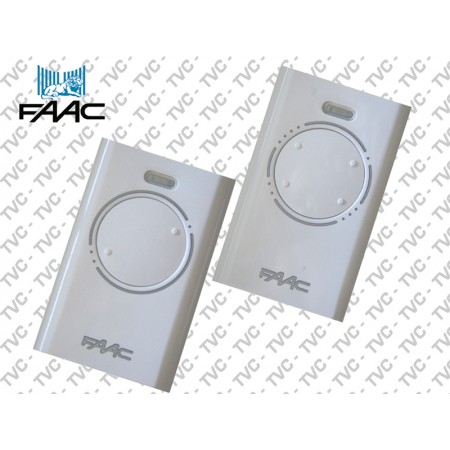 Radiocomando Hopping Code XT 433 SLH LR Bianco FAAC 433,92 MHz