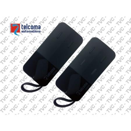 Radiocomando Rolling Code NOIRE E TELCOMA 433,92 MHz