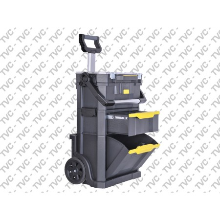 "Set mobile ""2 in 1"" con top edge 19"" Rolling Workshop gen.2 STANLEY"