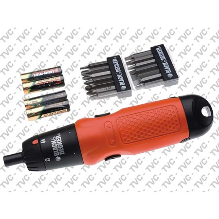 Set SvitaAvvita Batterie Alcaline BLACK+DECKER