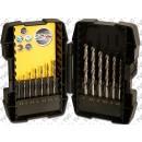Strongbox Punte Per Metallo Hi-Tech Bullet 13 Pezzi STANLEY FATMAX